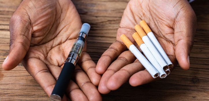 Switching From smoking to vaping for better health